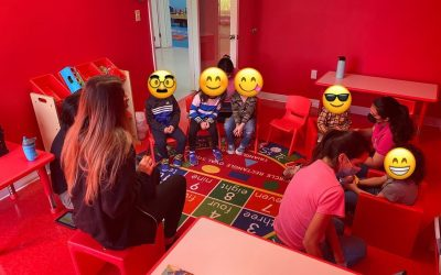 Circle time!!!  Working on school readiness with: 1- Responding to group instru…