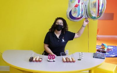 Happy birthday to our amazing BCBA Nicole!!! Thank you for always giving 110% to…