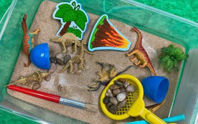 Found these great sensory box kits from @michaelsstores !!  We have a space the…