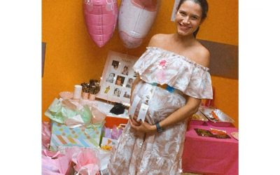 Surprise baby shower for our dear BCBA Claudia! Grateful she is part of our smal…